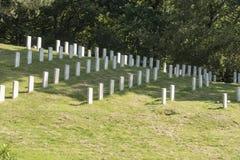 Cimetière de militaires de Netley Image stock