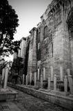 Cimetière de mosquée de Süleymaniye vieux Images stock