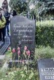 Cimetière de Novodevichy Grandda de tombe Galina Dzhugashvili - de Stalin Images stock