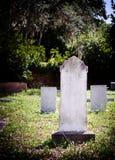 Cimetière de pierre tombale de cimetière images stock
