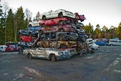 Cimetière de véhicule Photographie stock