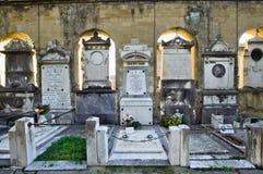 Cimetière de Verano à Rome Photos libres de droits
