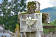 Cimetière de Vic-sur-sec Photo libre de droits