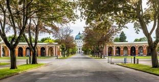 Cimetière de Zentralfriedhof à Vienne, Autriche images libres de droits