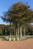 Cimetière du Belge WW I dans Houthulst Images libres de droits