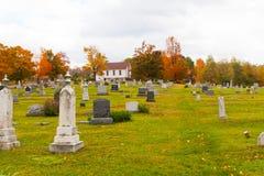 Cimetière en Pennsylvanie Photographie stock libre de droits