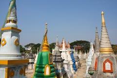 Cimetière en Thaïlande Photo stock