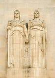 Cimetière et mémorial américains de l'Aisne-Marne Images libres de droits