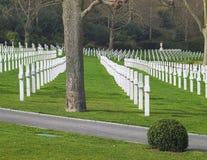 Cimetière et mémorial américains de Suresnes image libre de droits