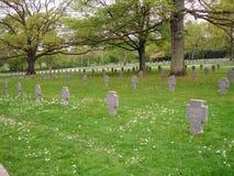 Cimetière et mémorial américains du luxembourgeois Photo libre de droits
