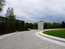 Cimetière et mémorial américains du luxembourgeois Image stock
