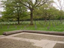 Cimetière et mémorial américains du luxembourgeois Image libre de droits