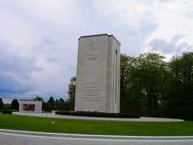 Cimetière et mémorial américains du luxembourgeois Photos stock