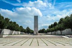 Cimetière et mémorial américains néerlandais Photos libres de droits