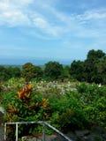 Cimetière hawaïen Photo libre de droits