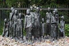 Cimetière juif commémoratif à Berlin, Allemagne photographie stock libre de droits