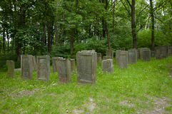 Cimetière juif - Lezajsk - Pologne photographie stock