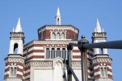 Cimetière monumental à Milan Photos stock
