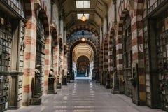 Cimetière monumental à Milan, Italie photographie stock