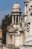 Cimetière monumental images libres de droits