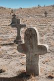 Cimetière mort Photos stock