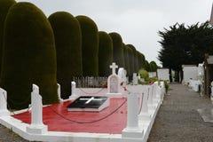 Cimetière municipal Punta Arenas photo stock