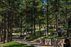 Cimetière où Bill Hickock sauvage est enterré Image stock