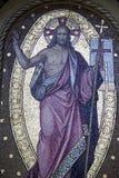 Cimetière principal Mirogoj, détails, Croatie, 24 de Zagreb Image libre de droits