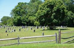 cimetière rural photographie stock libre de droits