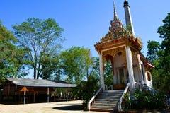 Cimetière thaïlandais dans le temple Photo stock
