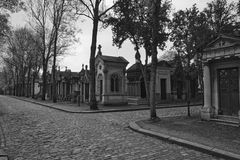 Cimetiere du Pere Lachaise Royalty Free Stock Photo