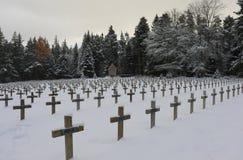 Cimetiere Militaire du Wettstein 库存图片