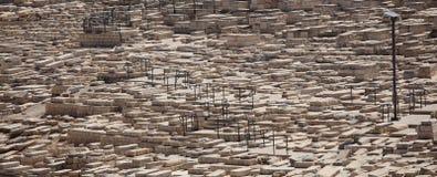 Cimetière antique du mont des Oliviers, Israël Photographie stock