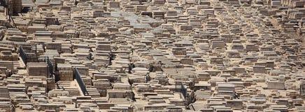 Cimetière du mont des Oliviers, Jérusalem, Israël Photographie stock libre de droits
