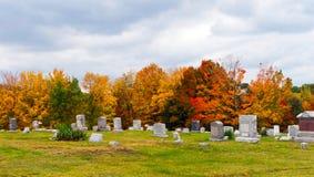 Cimetière en Pennsylvanie Photo stock
