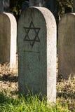 Cimetière juif Images libres de droits