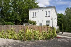 Cimetière juif chez l'Ouddiemerlaan 146 dans Diemen la Hollande-Septentrionale Images stock
