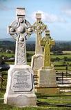 Cimetière à la roche de Cashel, Irlande Photo stock