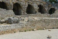 Cimiez Arenas Roman Ruins Stock Image