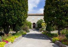 Cimiez Monastery Garden in Nice Stock Image