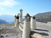 Ciminiere in Alpujarra Immagine Stock Libera da Diritti