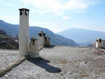 Ciminiere in Alpujarra Fotografie Stock