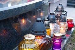 Cimiteri polacchi Fotografie Stock Libere da Diritti