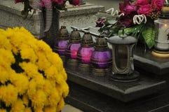 Cimitero Immagini Stock Libere da Diritti