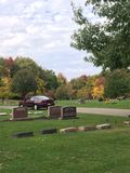 Cimitero immagine stock libera da diritti