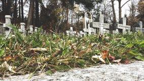 Cimitero Immagine Stock