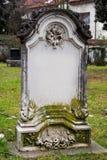 Cimitero Fotografia Stock Libera da Diritti