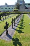 Cimitero all'abbazia lato negativa Immagini Stock Libere da Diritti
