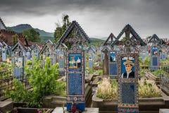 Cimitero allegro Immagine Stock Libera da Diritti