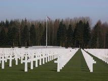 Cimitero americano Fotografia Stock Libera da Diritti